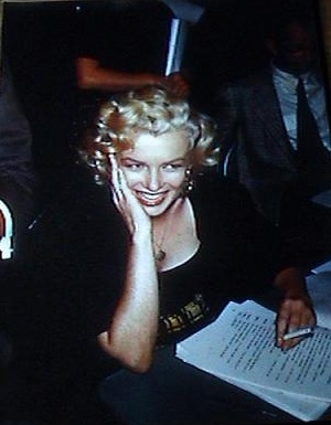 Image for 1952 ARCHIVE OF ORIGINAL COLOR STEREOVIEW POSITIVES OF THE REMARKABLE AND STUNNINGLY BEAUTIFUL MARILYN MONROE DURING A BROADCAST OF EDGAR BERGEN AND CHARLIE MCCARTHY'S RADIO SHOW
