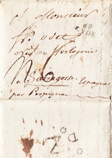 Image for 1796 SUPER, ORIGINAL HANDWRITTEN FRENCH REVOLUTIONARY ERA STAMPLESS LETTER BETWEEN HOROLOGISTS AT THE APEX OF TIME KEEPING HISTORY IN DECIMAL CALENDAR AND CLOCKS FRANCE