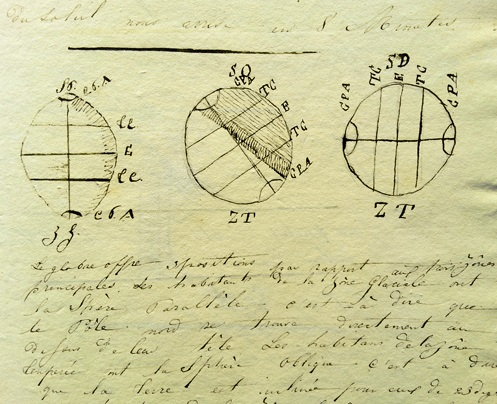 1830s SUPERB ORIGINAL MANUSCRIPT BOOKS [2] AND HANDWRITTEN STUDY HIGHLIGHTING THE STATE OF HIGHER EDUCATION IN FRANCE IN THE EARLY 19TH CENTURY