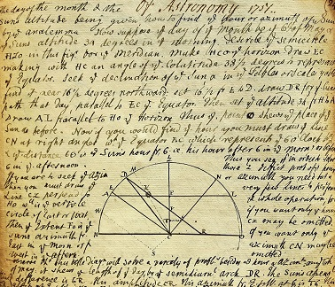 Image for 1751 ORIGINAL, SUPERB MANUSCRIPT BOOK OF GEOGRAPHY, ASTRONOMY AND NAVIGATIONAL WISDOM AT THE THEN APEX OF SCHOLARLY KNOWLEDGE DURING THE AGE OF SAIL