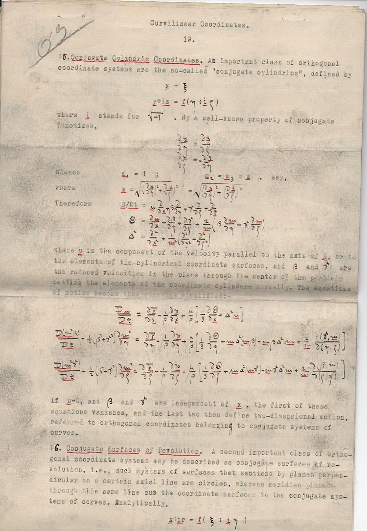 Image for c1896 ORIGINAL TYPED AND HANDWRITTEN MANUSCRIPT STUDY OF ADVANCED HIGHLY TECHNICAL COMPLEX MATHEMATICS BY A PRODIGY WHO WOULD DIE WITHIN THE YEAR AT THE AGE OF 23