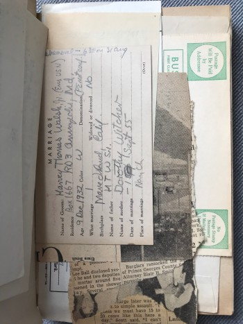 Image for 1946-1957 Original Handwritten Journal with ephemera by a US Navy Chaplain Serving in Asia and the Pacific after World War Two