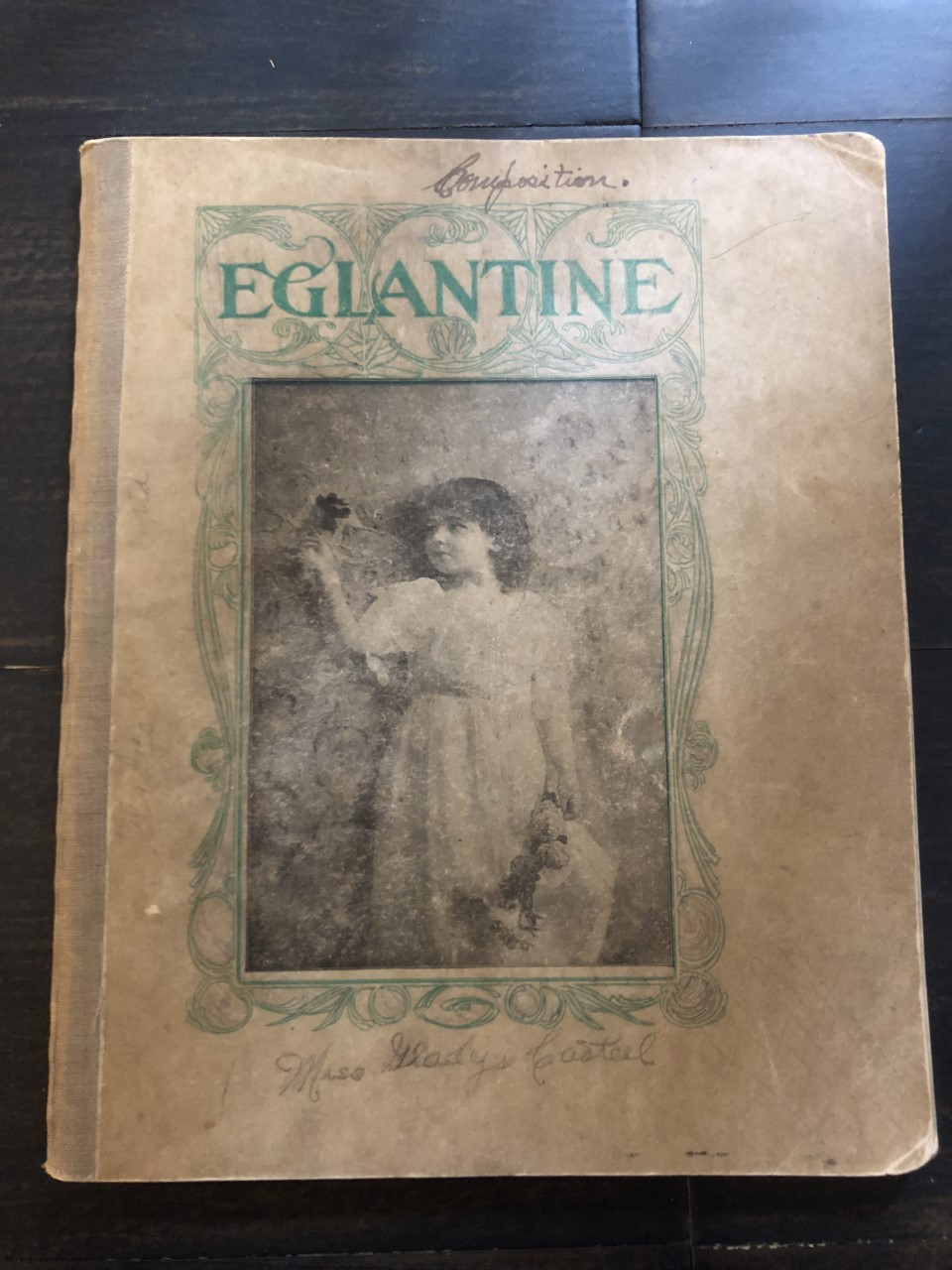 Image for 1905 High School Composition Book of a Young Creative Writer with Fictional Stories and Real-Life Accounts of Life in Francisville, Indiana