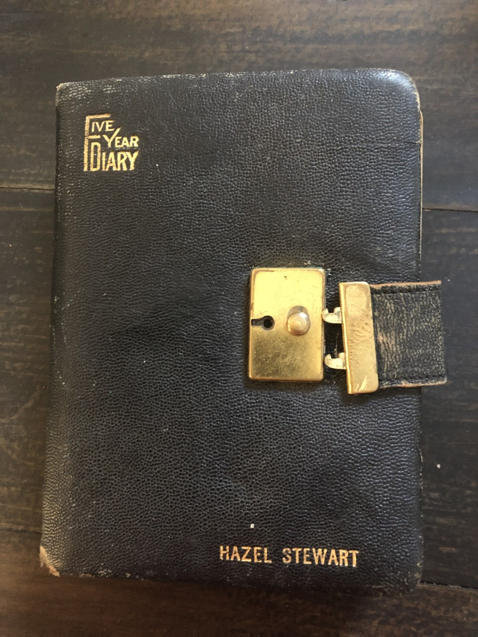 Image for 1938-1942 5 Year Diary of an American Teenager, Learning, Working and Dating, Naively Unaware of the Impact of World War Two